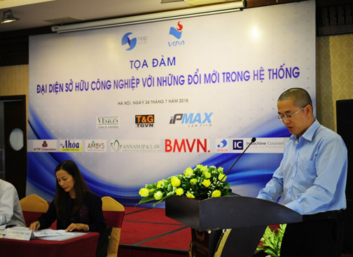 Mr. Nguyen Vu Quan had a speech on Power of Attorney related issues (the date on which the Power of Attorney is made and the statutory timeline of one month for submitting the original Power of Attorney after the trademark filing). Mr. Le Quang Vinh talked on the current practice of dealing with refusal based on Article 74.2(h) of the IP Law of Vietnam.